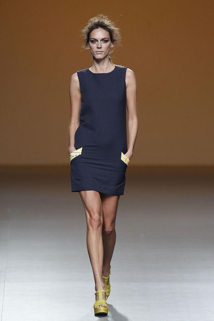 Sara Coleman - Pasarela Mercedes-Benz Fashion Week Madrid ... primavera/verano 2014