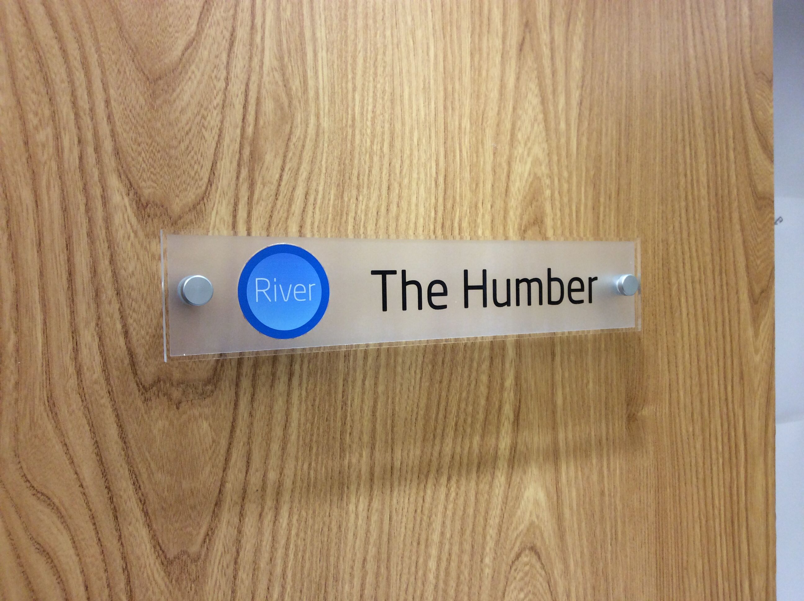 office door signs with logos