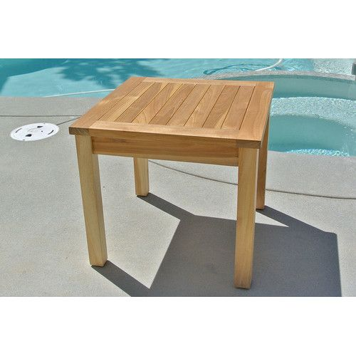 Pacific Reclining Teak Chaise Lounge With Cushion And Table Teak Side Table Teak Chaise Lounge Teak