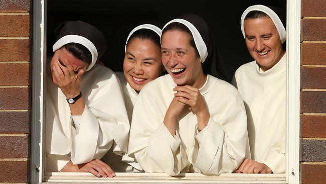 Beautiful portrait of Australian nuns