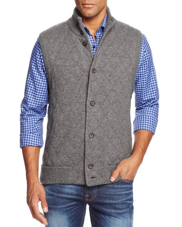 The Men's Store at Bloomingdale's Cashmere Diamond Quilted Sweater ... : quilted sweaters - Adamdwight.com