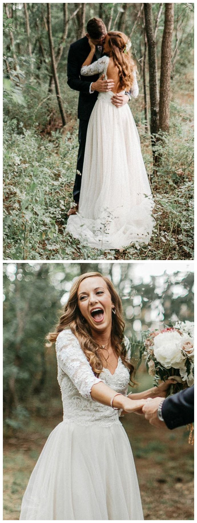 sleeves lace top country wedding dresses cheap backless wedding