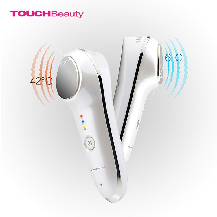 TOUCHBeauty Hot Cool Massage Relaxation Skin Rejuvenator Health Care Beauty Products With Sonic Vibration