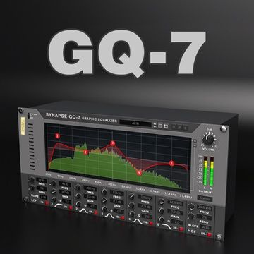 Synapse GQ-7 Graphic Equalizer | Reason by propellerhead software