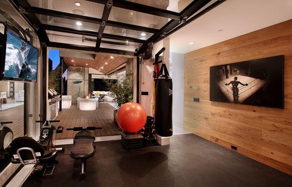 Garage Gym Design Ideas Cool Home Fitness Ideas Haus