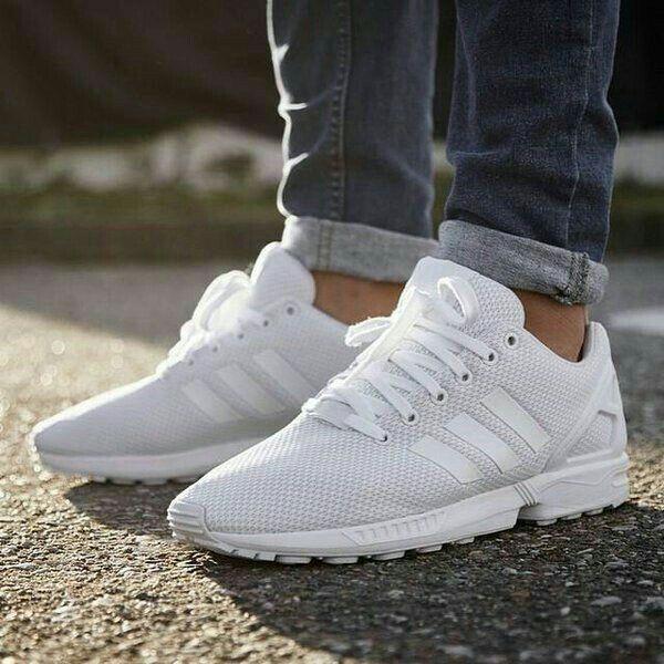 zapatillas hombre blancas adidas
