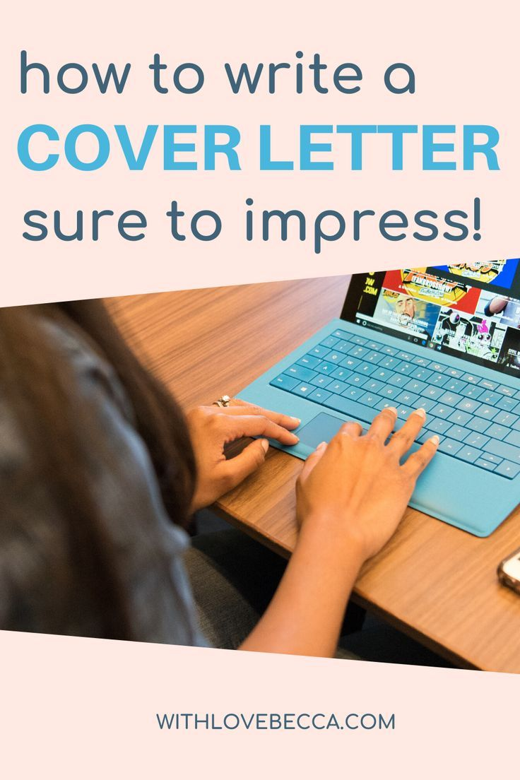 Write a Cover Letter for a Job Application That Will Make