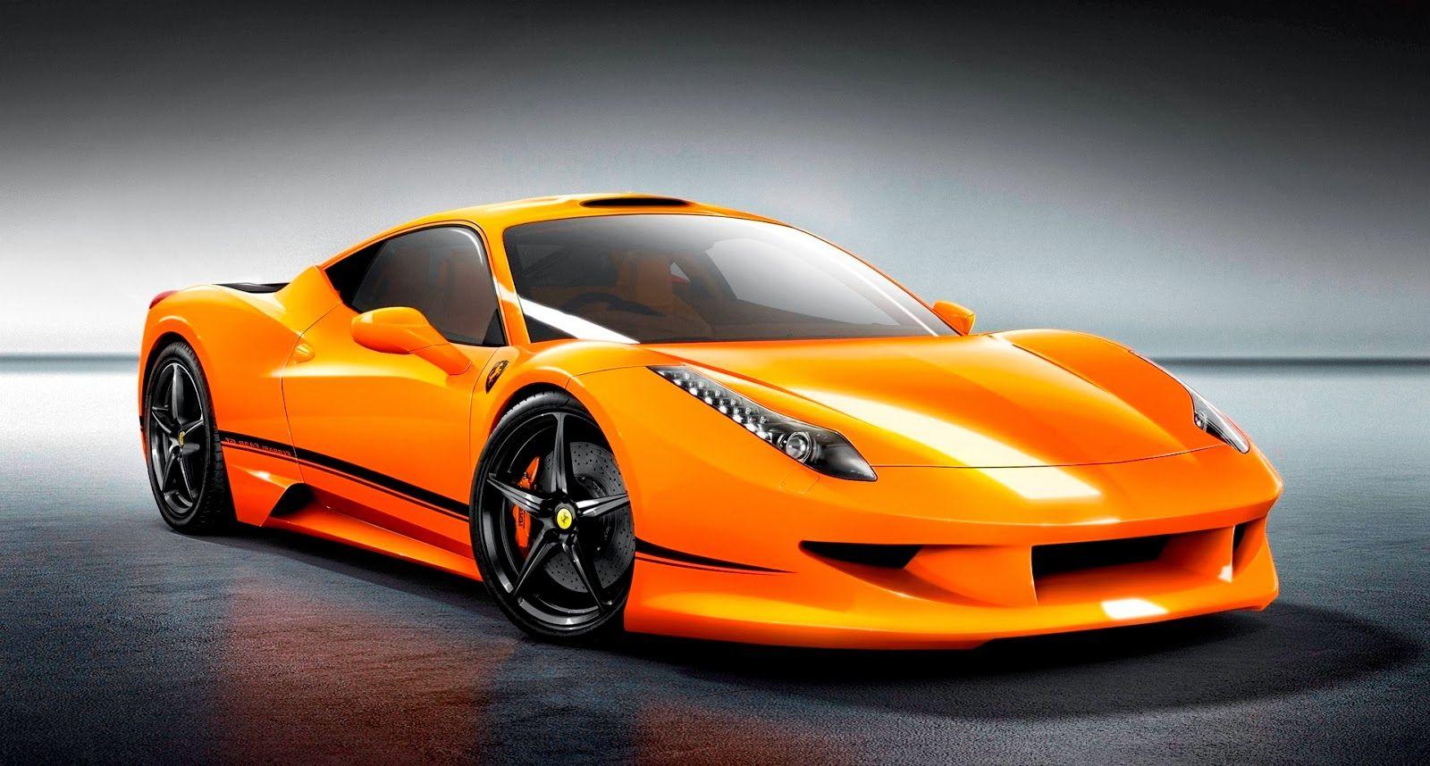 Ferrari Orange Color Wallpaper Jpg 1600 858 New Model Car Car Model New Car Photo