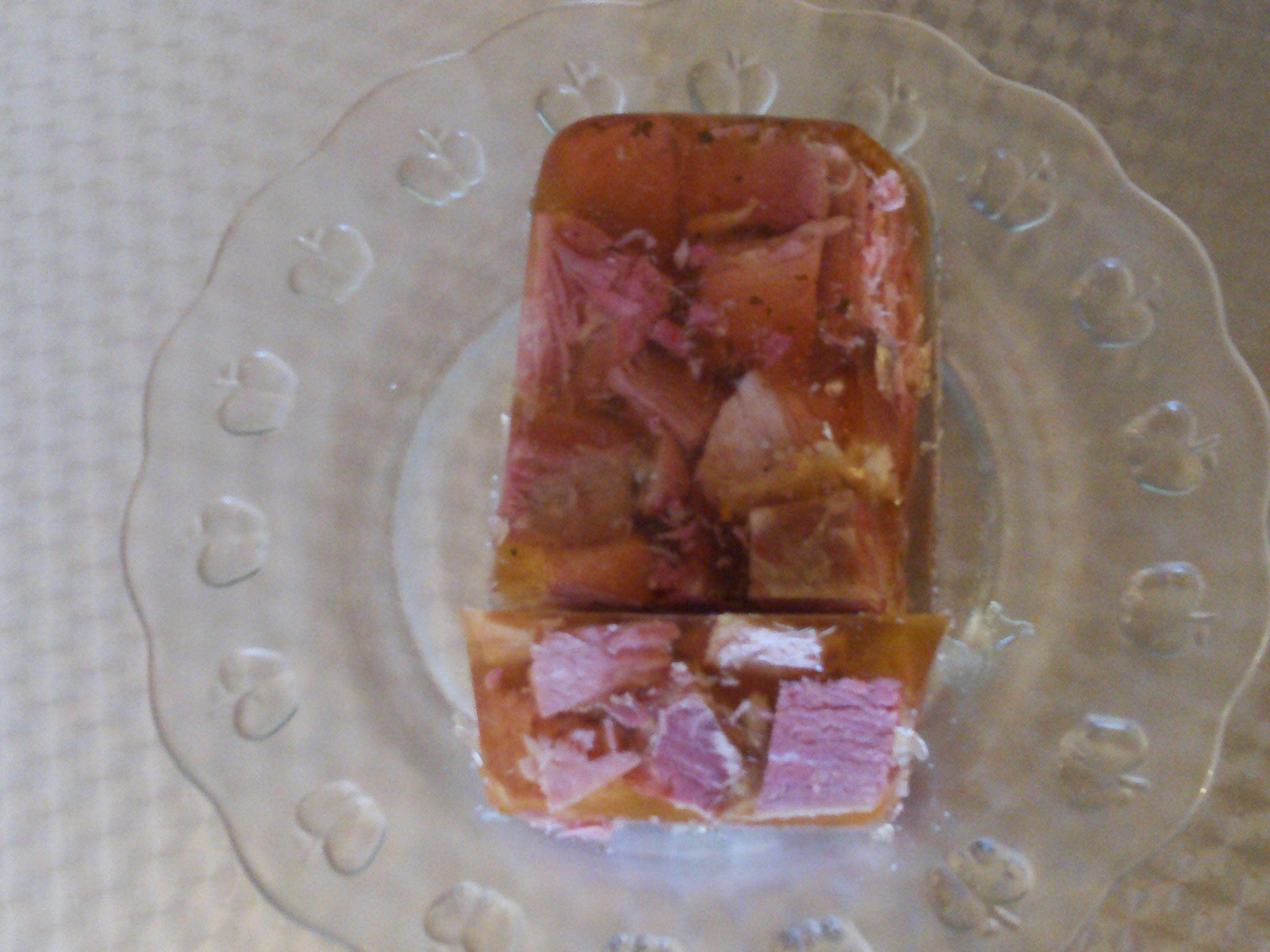 Kaisersulze Nach Grabowsky Art Rezepte Mit Wurstchen Lebensmittel Essen Sauerfleisch