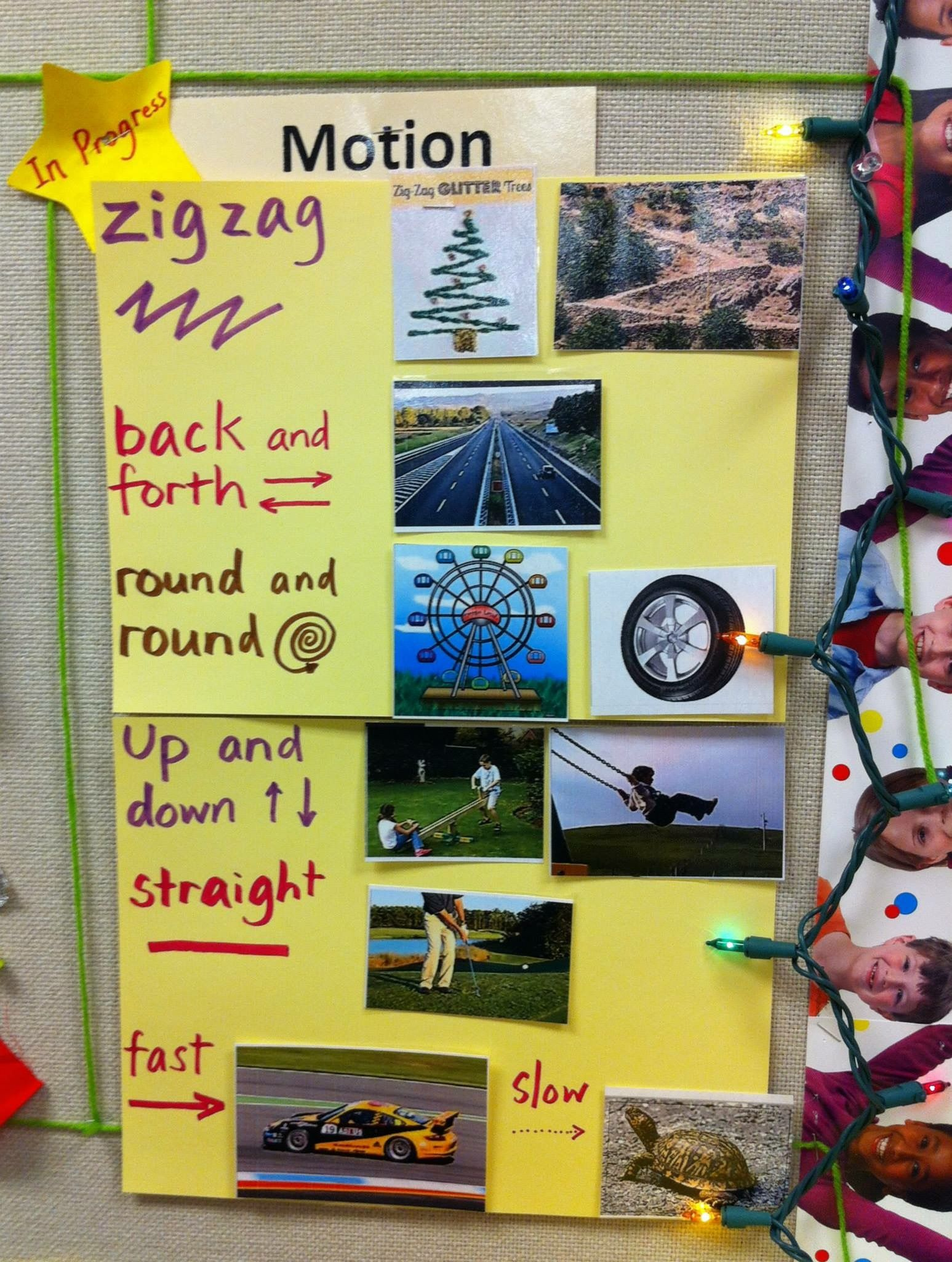 Motion Science Word Wall | Science Word Walls | Pinterest | Science ...