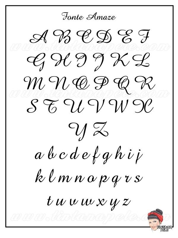 Letra Para Tatuagens Escritas Fonte Amaze Fontes Para Tatuagem Letras Para Tatuagem Tatuagem