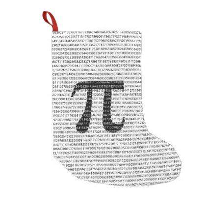 Original Black Number Pi Day Mathematical Symbol Small Christmas