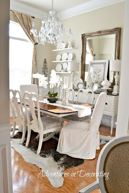 Country Style Dining Room Home Decor Mirror Dining Room Dining Room Table Decor Beautiful Dining Rooms