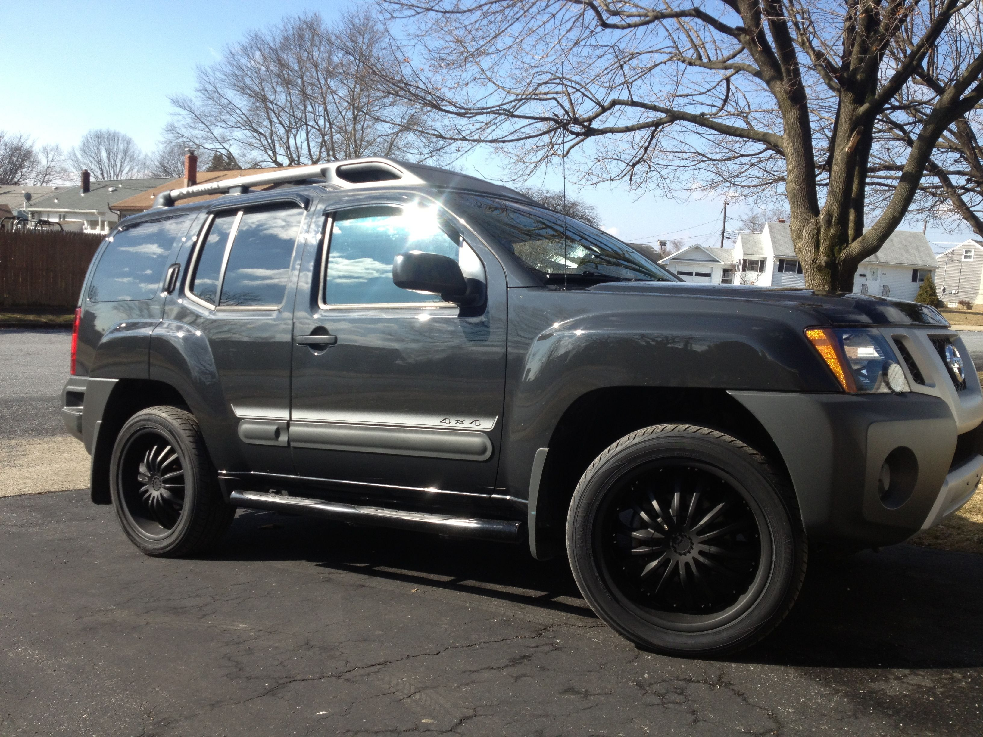My suv nissan xterra hooked up with rims