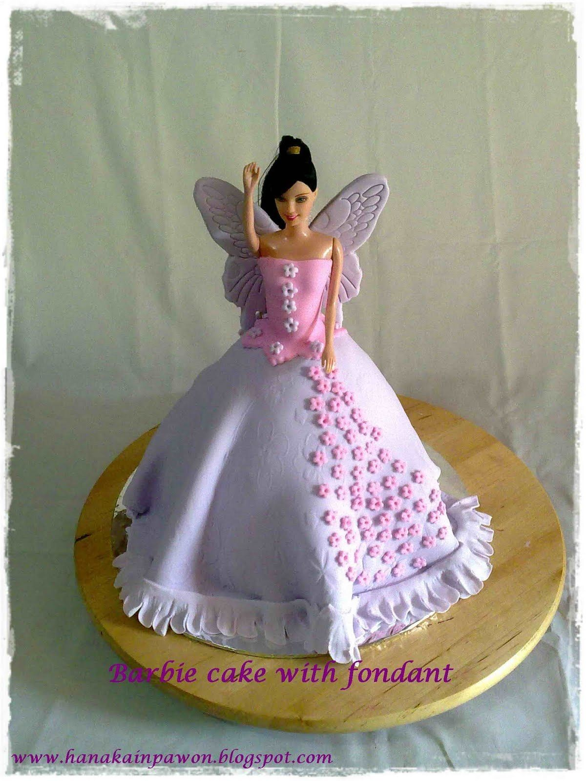 Butterfly Barbie Cake Images : Purple butterfly Barbie Cake Barbie, Gowns & Princesses ...