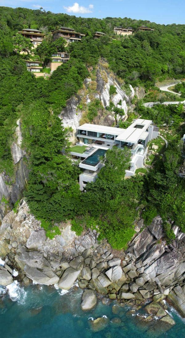 wahnsinn villa amanzi an der andamanen see in thailand best of ferienhaus pinterest. Black Bedroom Furniture Sets. Home Design Ideas