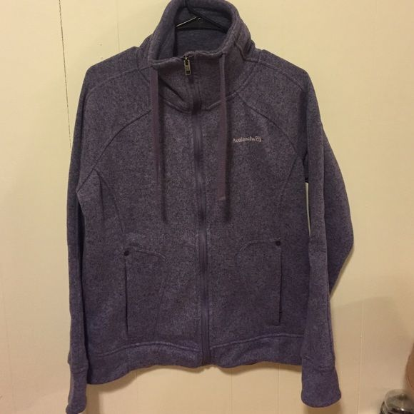 Purple Avalanche fleece Jacket Super cute NWOT Avalanche sweater ...