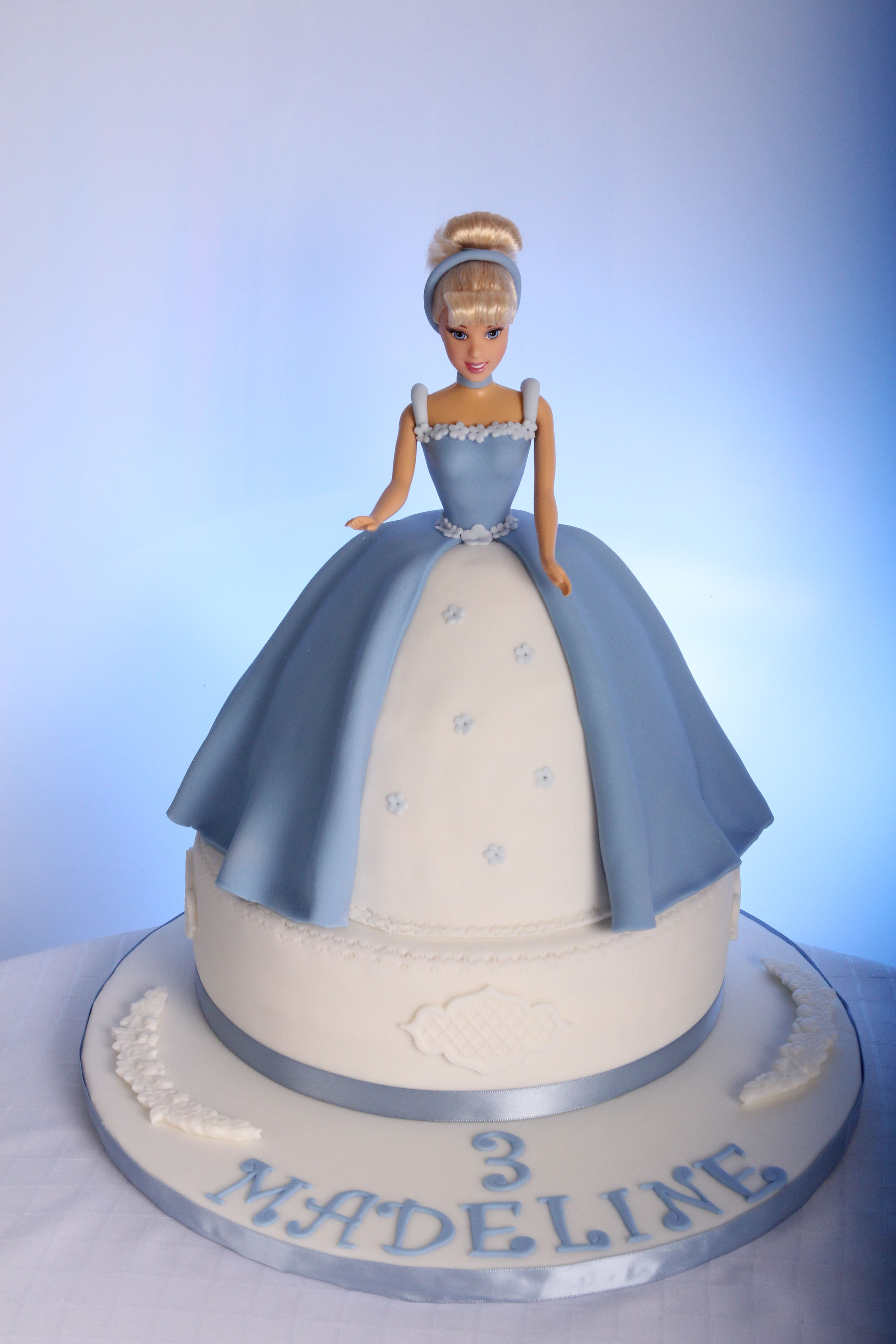 Princess Cake Cinderella Cake Cinderella Cake Barbie Doll Cakes Doll Cake