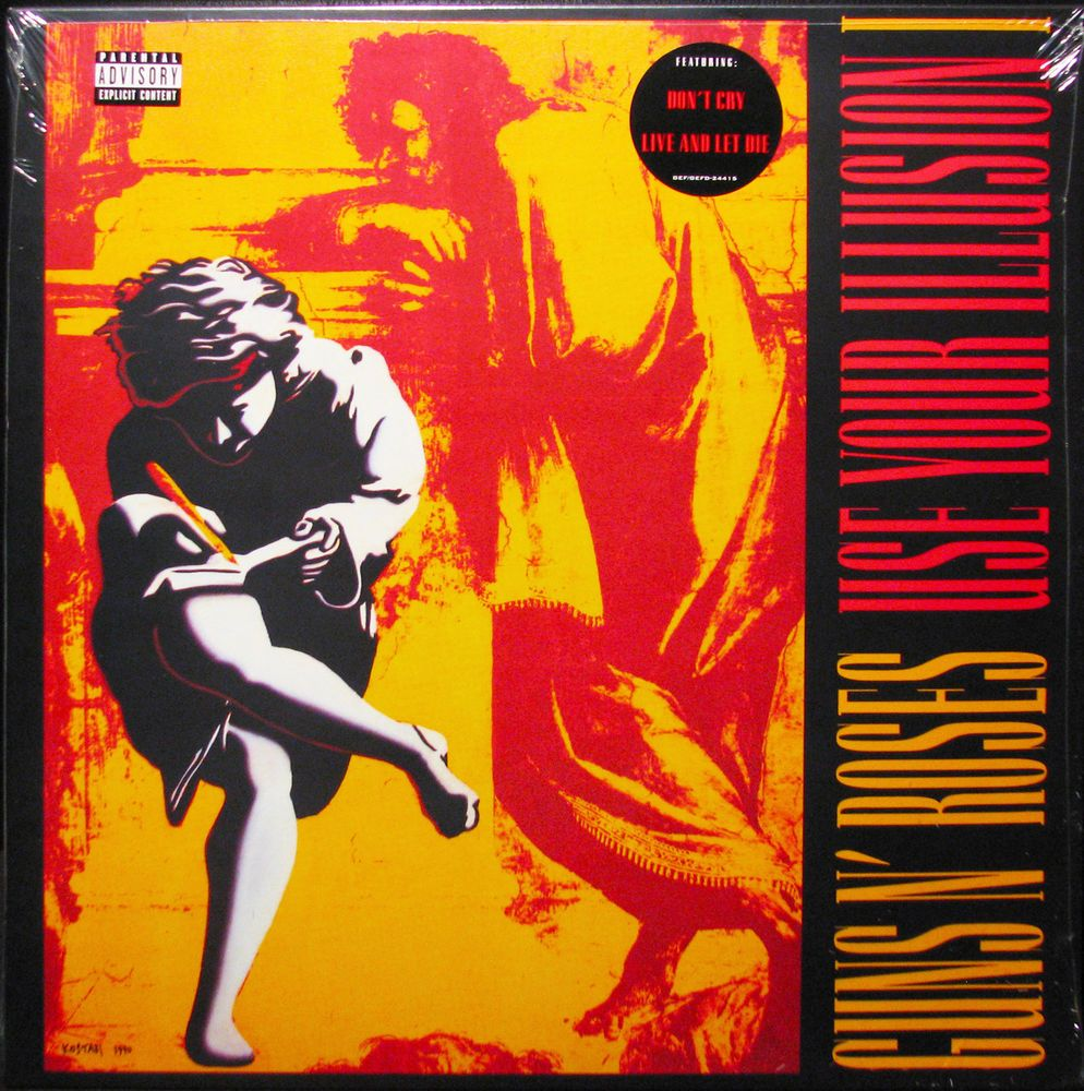 Details About Guns N Roses Use Your Illusion I Latest Pressing
