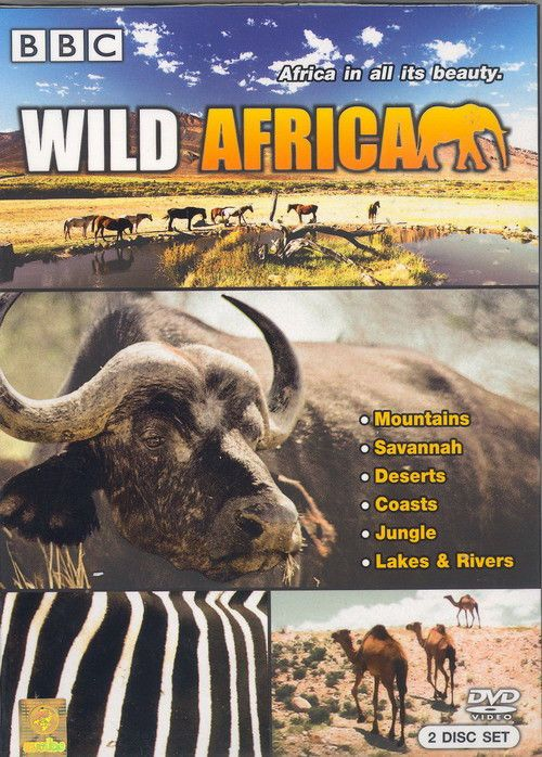 WILD AFRICA [DVD PAL COLOR] Complete BBC Nature Documentary Special 2 Disc