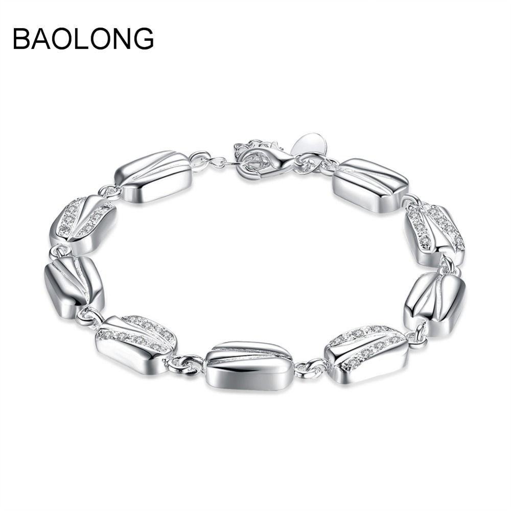 Baolong fashion charm charm bracelet gift bracelet women contracted