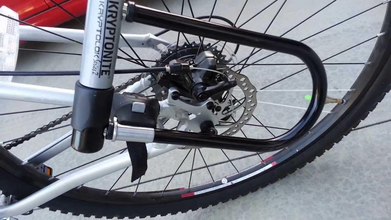 Kryptonite Kryptolok Series 2 Lock On K2 Zed 4 9 Bike Lock Bike