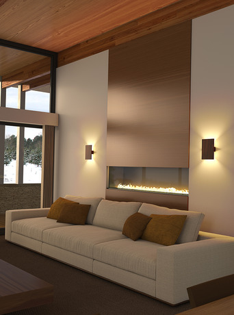 Tersus Wall Light In 2020 Wall Lights Living Room Contemporary House Plans Home Fireplace