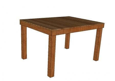 Tavolo Alto Da Pub : Using this basic idea for an outdoor chic picnic table pub