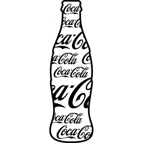 Repeticion En Forma Bottle Drawing