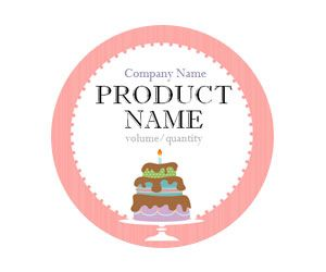 Tiered Cake Adhesive Labels Get This Free Printable Customizable Template From Yourtemplatefinder