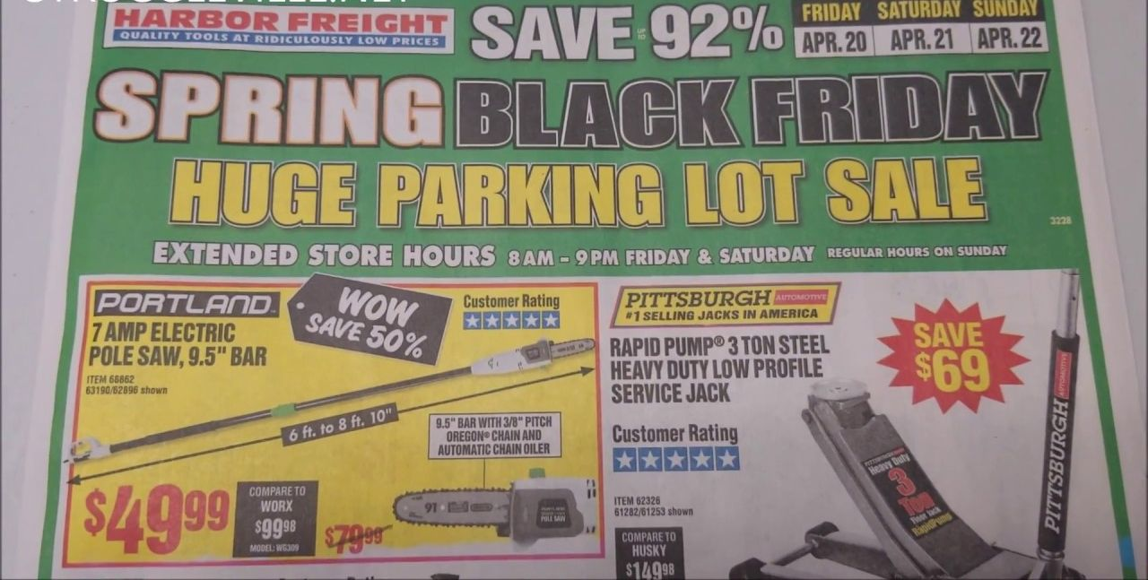 Harbor Freight Spring Black Friday 2020 Deals Get