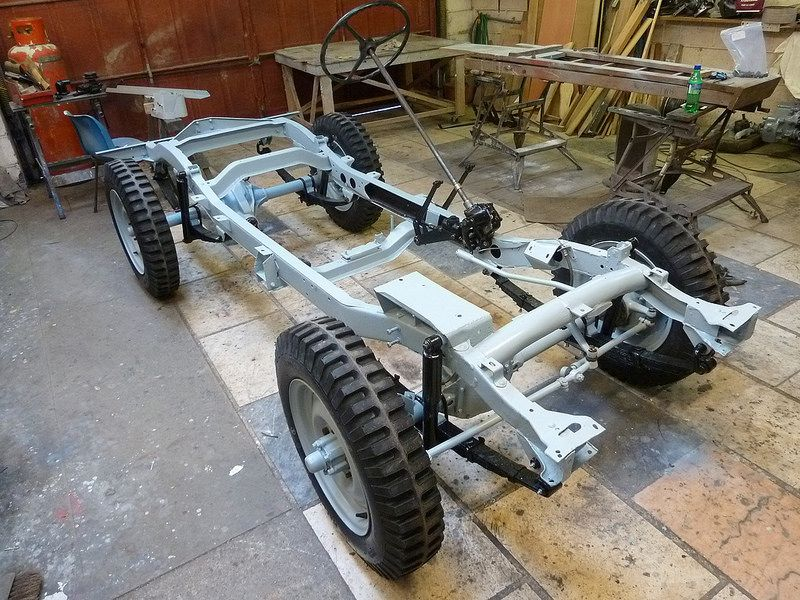 Willys Jeep Rolling Chassis Willys Jeep Willys Jeep