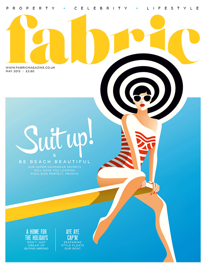 Malika Favre For Fabric Illustration Design Summer Magazine Cover Design Illustration Design Graphic Illustration