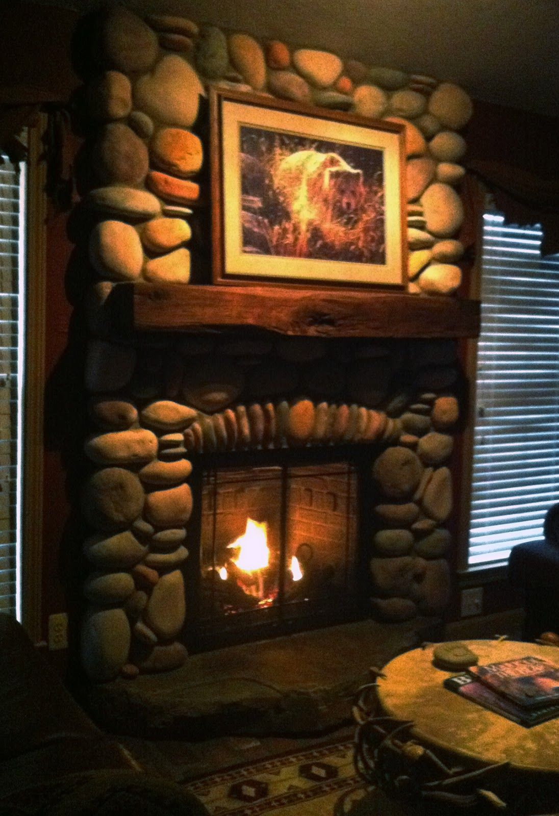 rustic looking gas fireplace google search fireplaces
