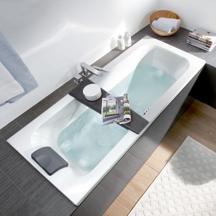Villeroy Boch Loop Friends Solo Rectangular Bath White Uba167lfs2v 01 Kleine Badezimmer Design Badezimmer Klein Badewanne