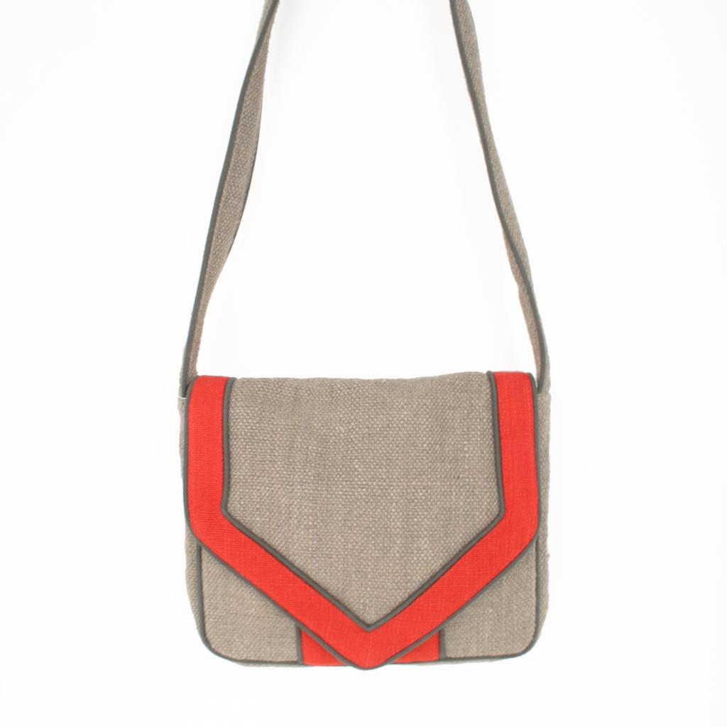 Neons & Neutrals: Fair Trade Jute Handbag | SOZU_blog