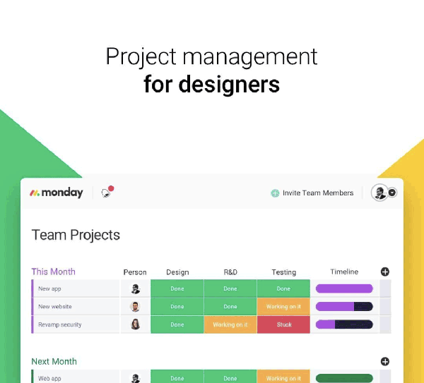 Monday Simple Project Management Tool Project Management Tools Project Management Management