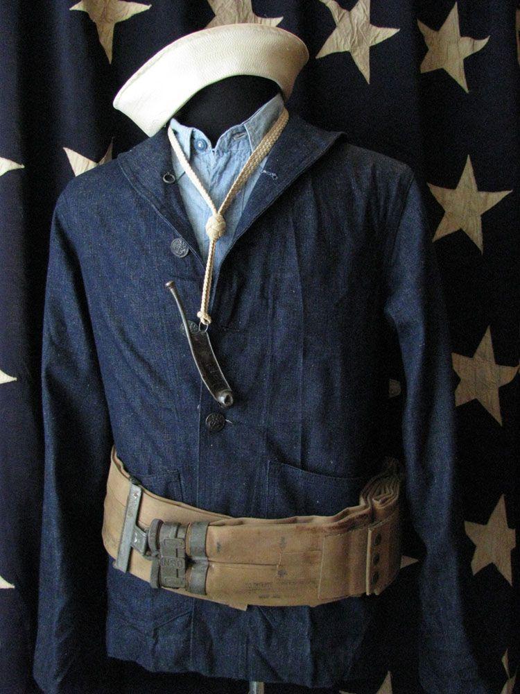 Wordpress Com Vintage Chambray Shirt Navy Uniforms Vintage Chambray