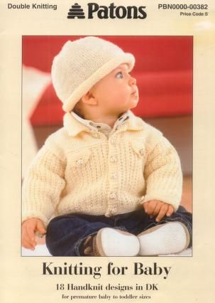 Patons 382 Knitting for Baby | famous five | Pinterest