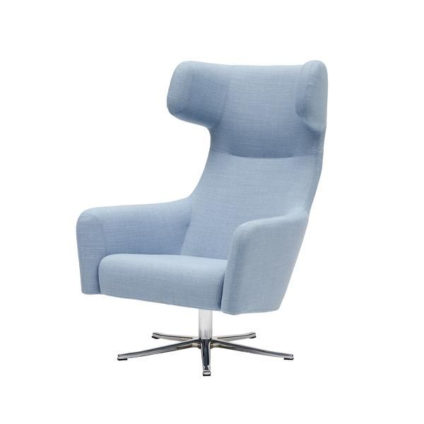 revolving chair thames resin lounge chairs havana wing swivel furniture wish list pinterest designer busk hertzog manufactured by softline dimensions in variesa spinning success the highly successful
