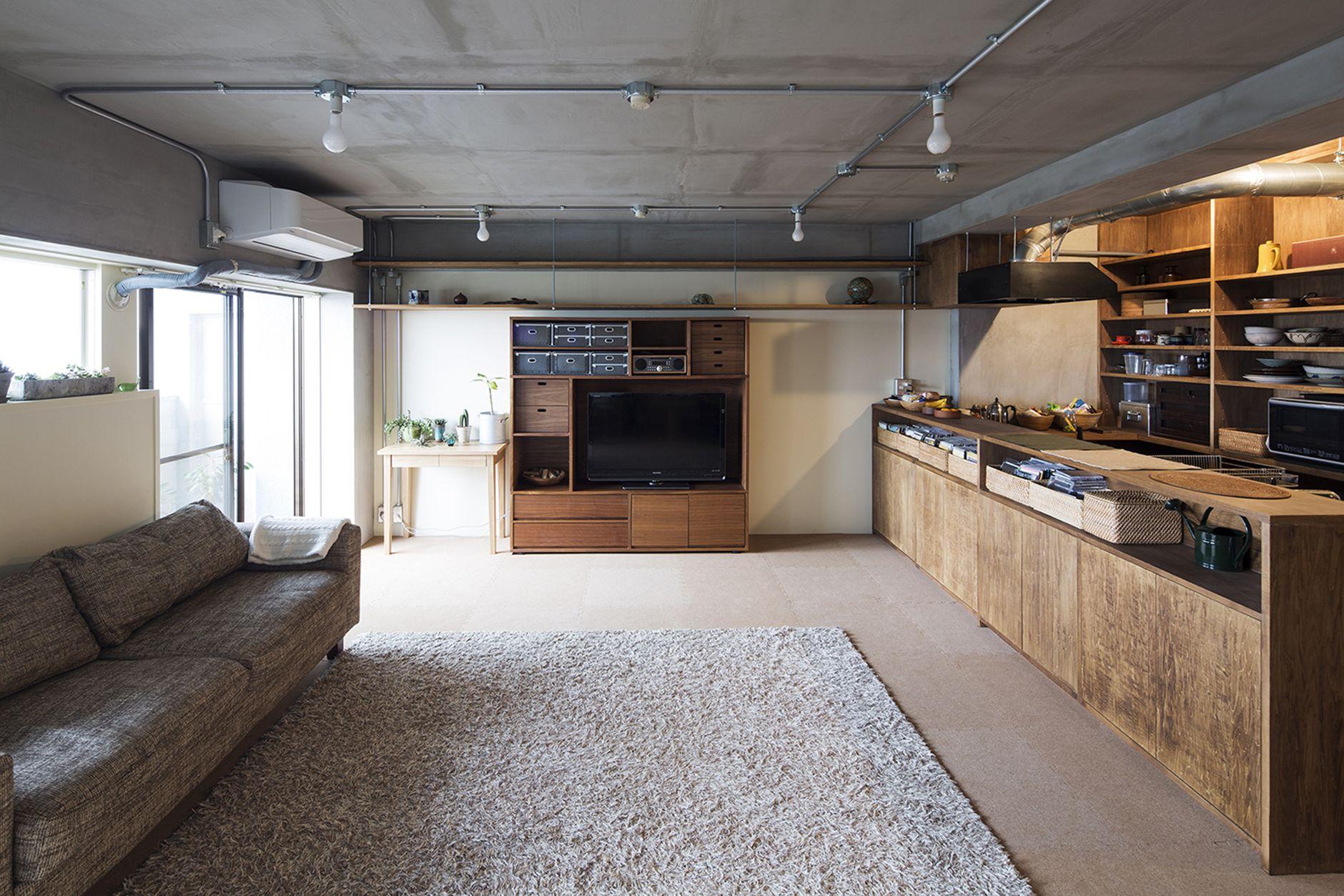 Gakugeidaigaku Yuichi Yoshida Associates Flats Industrial  # Muebles Cocina Sojoa