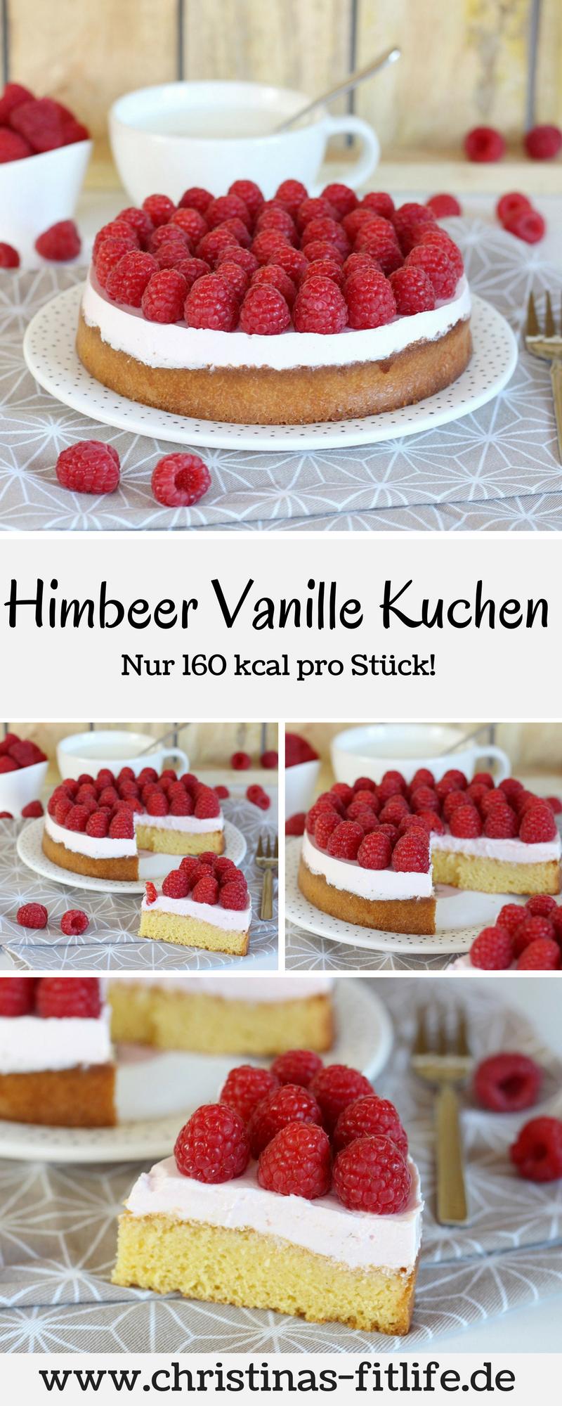 ᐅ Gesunder Himbeer Vanille Kuchen I Rezepte By Christina Pies