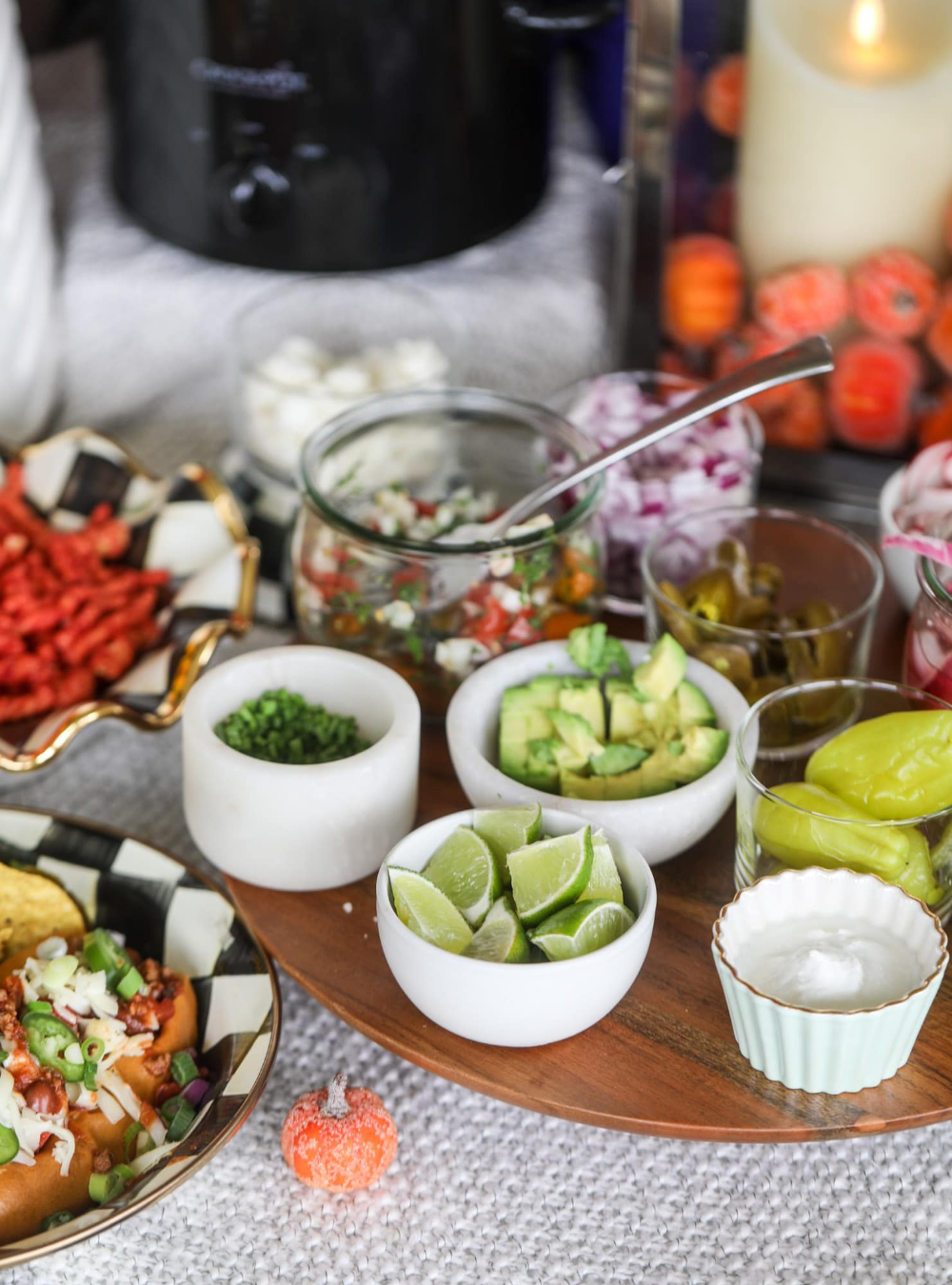 How To Set Up a Chili Bar - The Best Way to Set Up a Chili Bar #chilibar