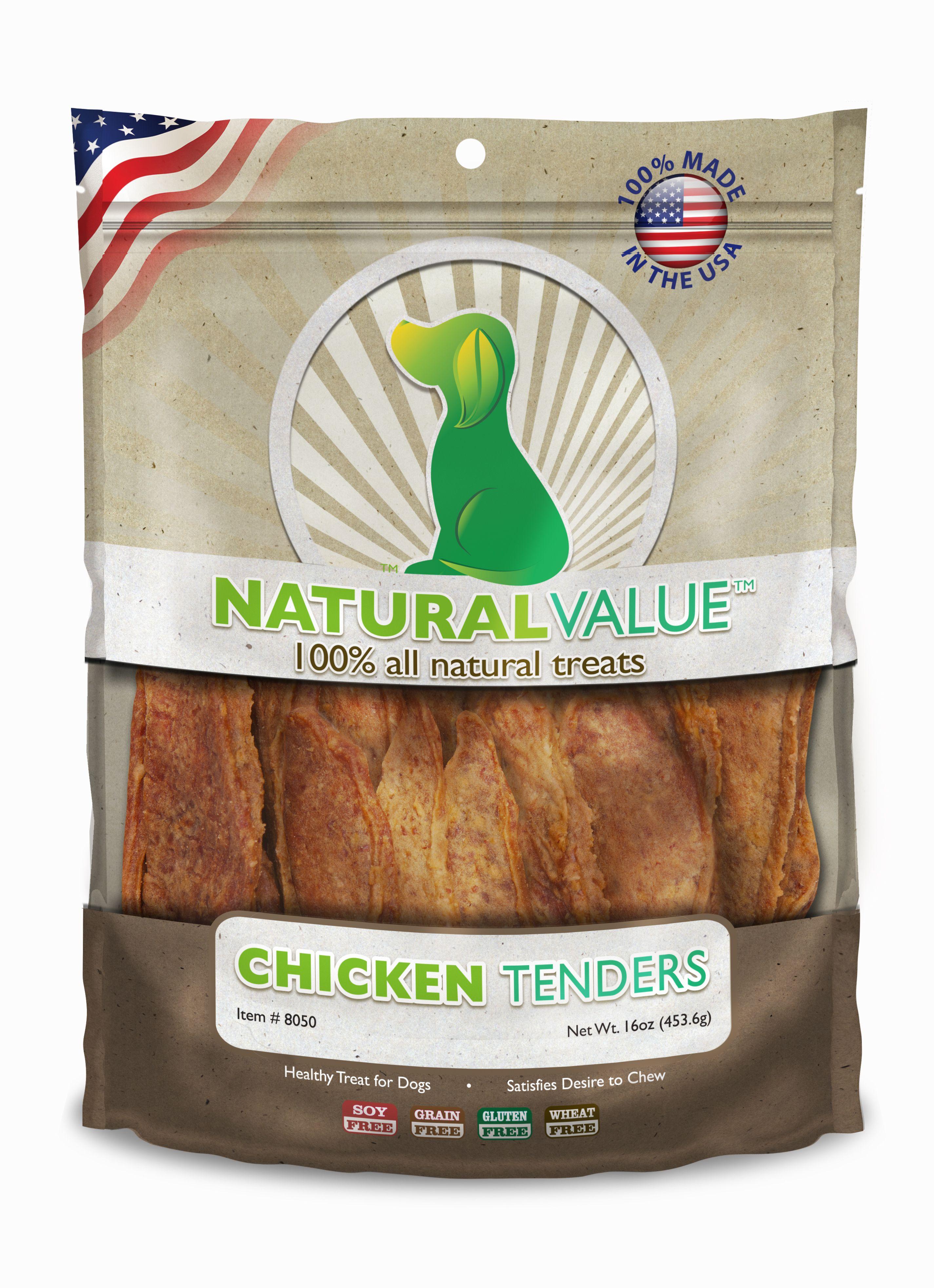 Natural value 100 all natural treatschicken tenders by
