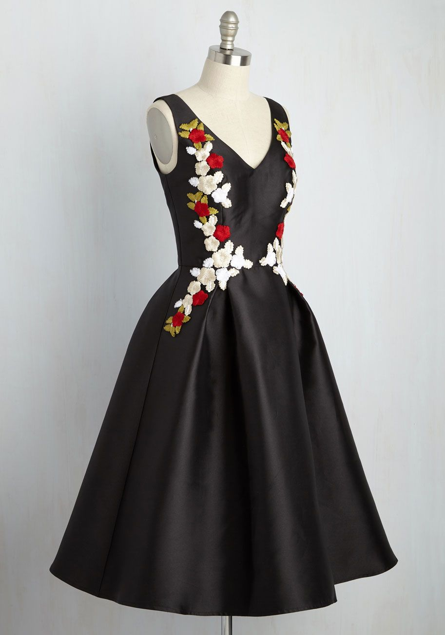 Conclude your meticulous search for the perfect formal frock by discovering  this black midi dress from Chi Chi London! Satisfying your elegant eye with  a ... b77aacdb2