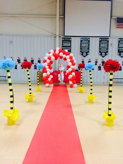 Dr seuss kindergarten graduation e n d of y e a r - Kindergarten graduation decorations ...