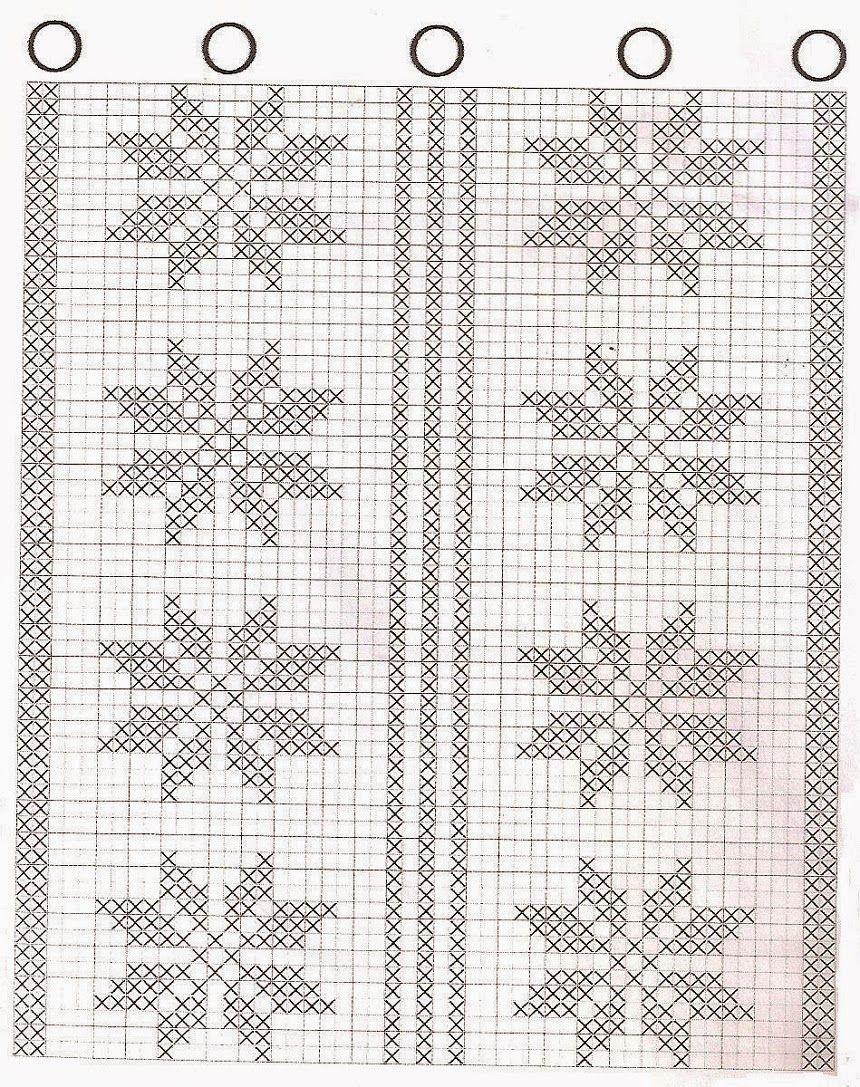 Artesanatos Em Croch Vanda Cortinas Para Cozinha Com Gr Ficos