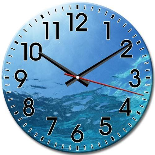Silent Zombie Hd Clock Frameless Round Wall Clock Arabic Numbers 10 Inch 25 Cm Diameter You Can Get More Details By Click Round Wall Clocks Clock Wall Clock