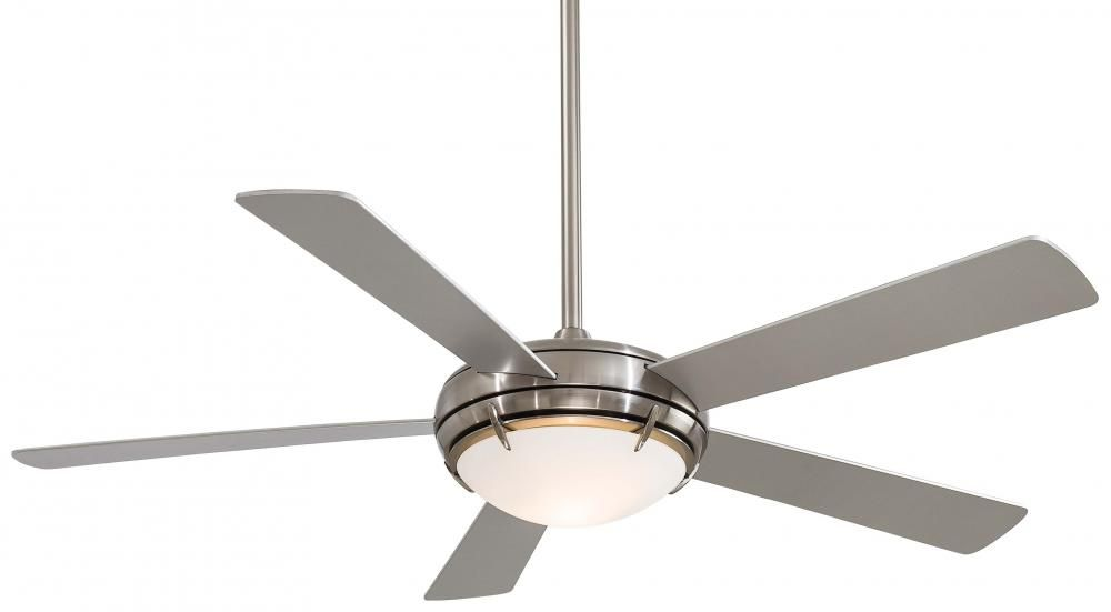 Two light brushed nickel ceiling fan 45y8 annapolis lighting