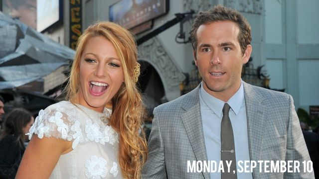 Ryan Reynolds and Blake Lively Secretly Got Married in a Cotton Field